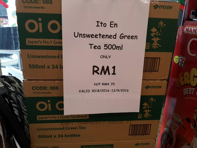 Barangan RM1 di 7 Eleven Sempena Sales Merdeka 2016