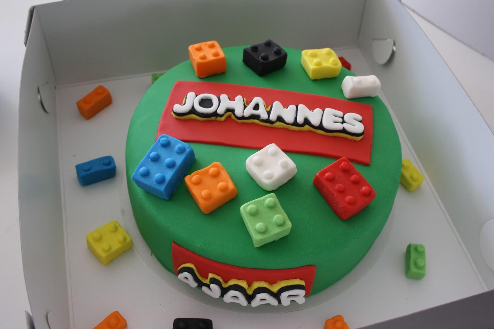 lego taart Taarten van Janni: Lego taart lego taart