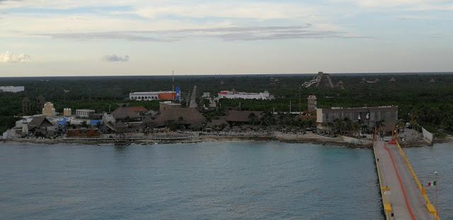 Kreuzfahrthafen Costa Maya