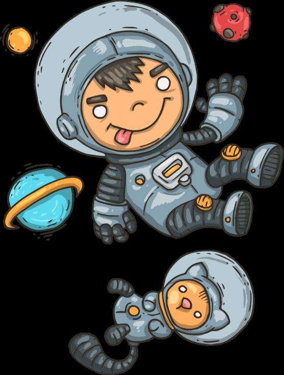 render astronauta