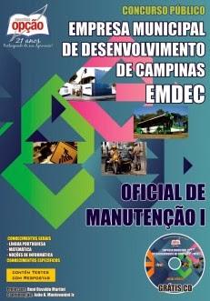 Concurso EMDEC CAMPINAS