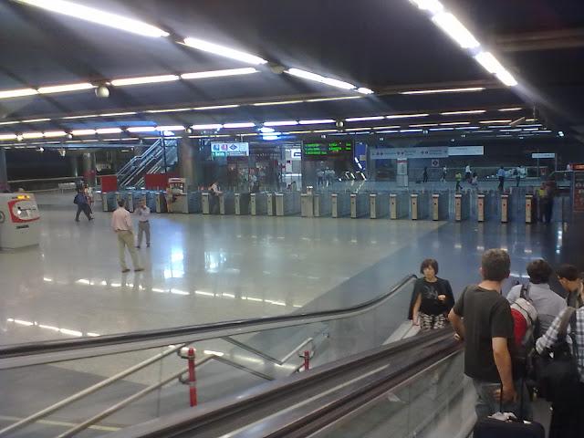 Gala de Magia en las estaciones de Metro de Chamartín y Nuevos Ministerios