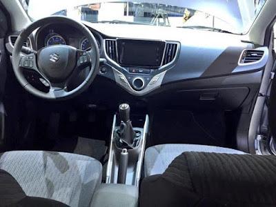 New 2016 Maruti Suzuki Baleno interior