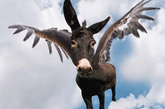 Η αριστερή κυβέρνηση, η... αξιοπρέπεια και η πτήση του... γαϊδάρου!