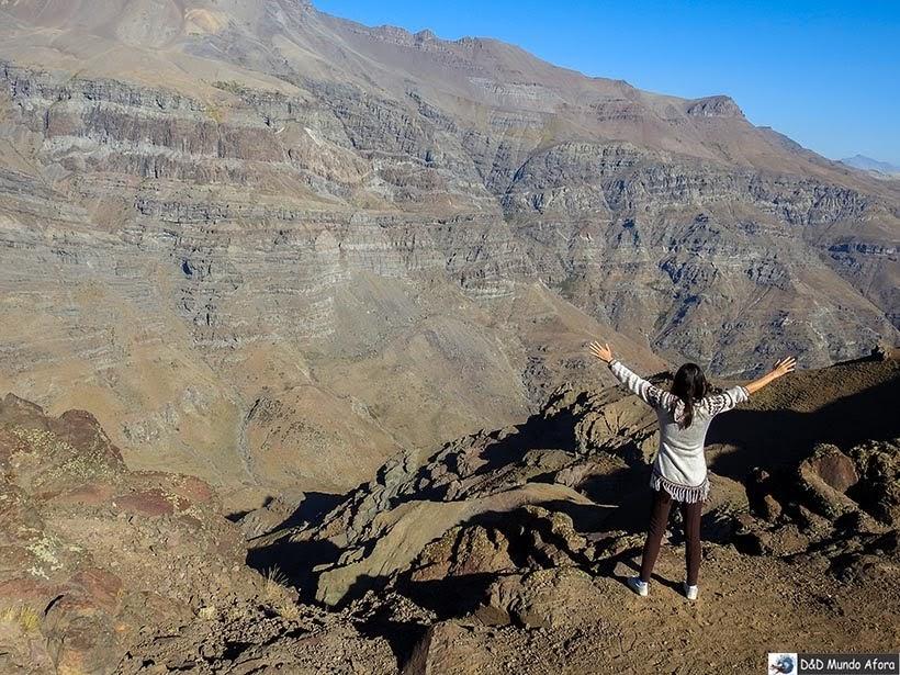 Montanhas do Valle Nevado no verão - Diário de Bordo Chile: 8 dias em Santiago e arredores