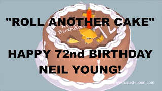 Neil Young - Happy 72nd Birthday!