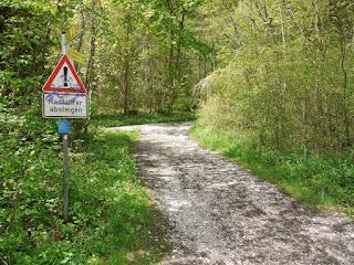 Westlicher Römerstraßenaufstieg beim Georgenstein