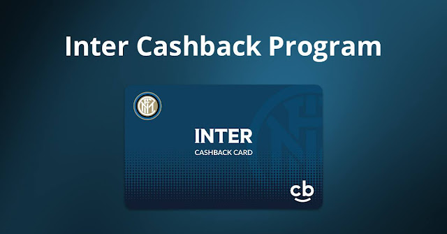 Inter Milan now with Cashback Word Shopping Benefits