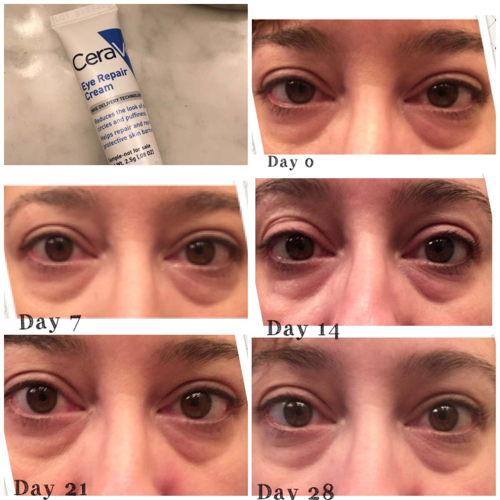 Exploring Makeup In My 40 S Review Of Cerave Eye Repair Cream After 1 Month Of Testing