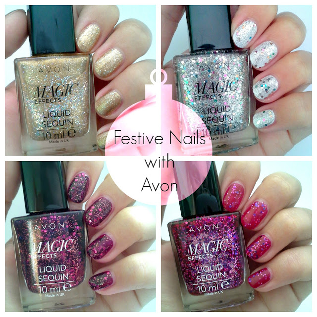 Avon Liquid Sequin nail polish