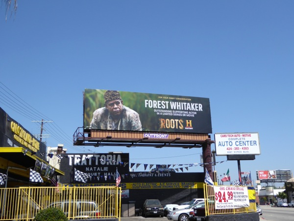 Forest Whitaker Roots 2016 Emmy FYC billboard