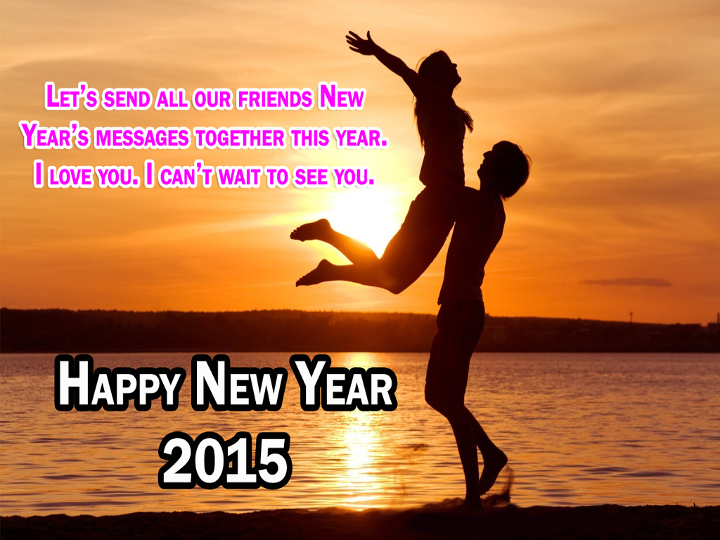 Cute Friendship Wallpapers With Messages Hindi Happy New Year 2015 Couple Wallpapers Png Format Hd