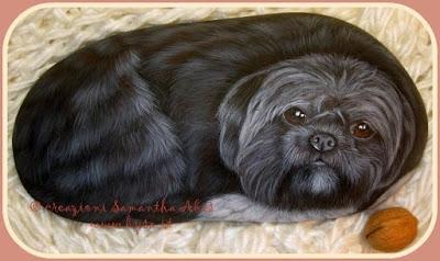 prezzi sassi dipinti cani