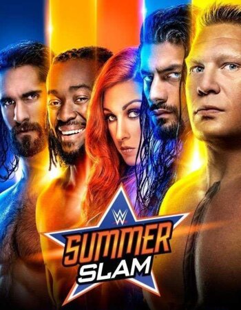 WWE SummerSlam 2019 PPV 720p 480p WEBRip Full Show Download HD