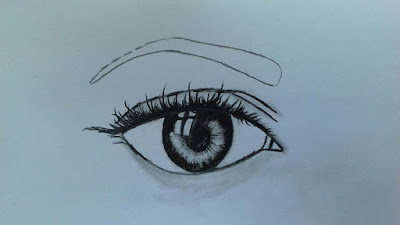 How to draw realistic eyes