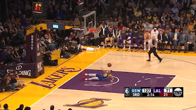 steph curry slips