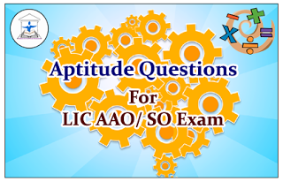 Aptitude Questions (DI-Puzzle) for Upcoming AAO/SO Exams