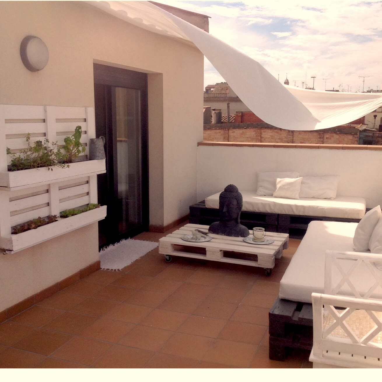 Muebles Con Palets Para Exterior Sobesonhome Mi Terraza Chill Out De Palets