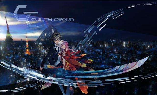 Guilty Crown - Anime Mirip Tokyo Ghoul