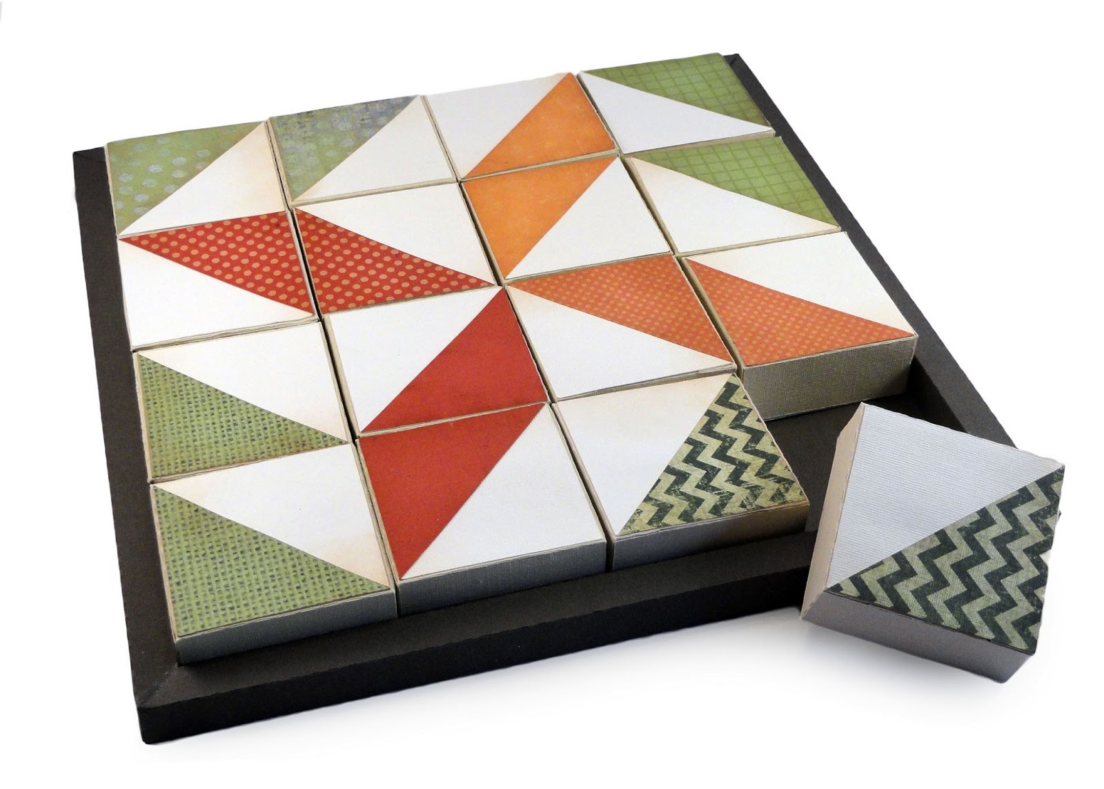 Needles N Knowledge Quilter S Puzzle Blocks Triangles