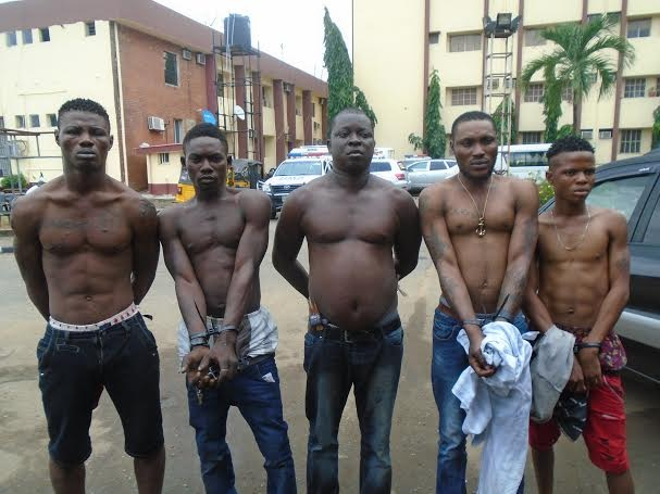 eiye cult members arrested ajah surulere lagos