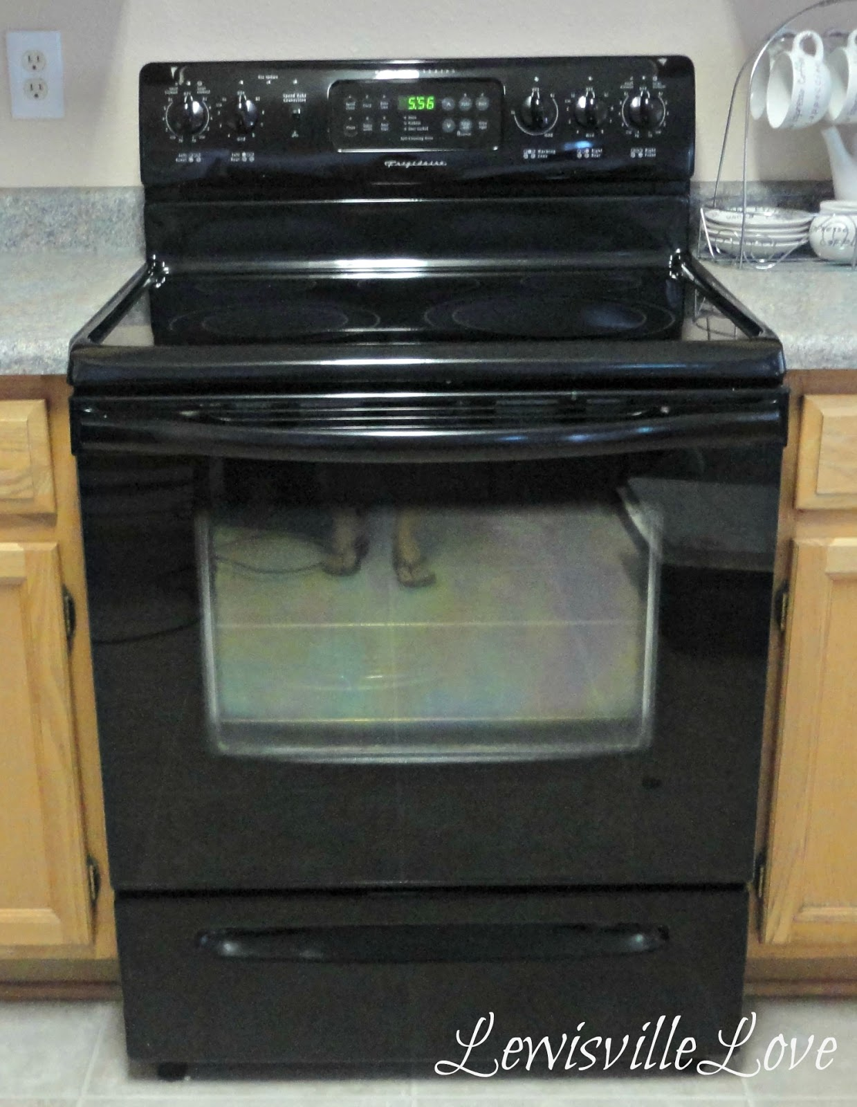 Lewisville Love: How To Clean A Glass Top Stove