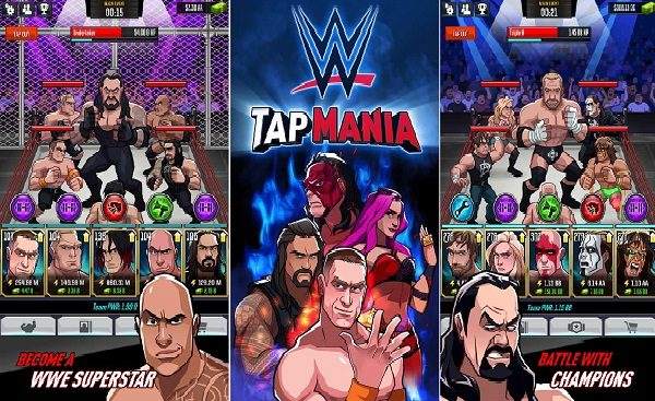 WWE Tap Mania MOD APK Lots Of Money Download [Latest]
