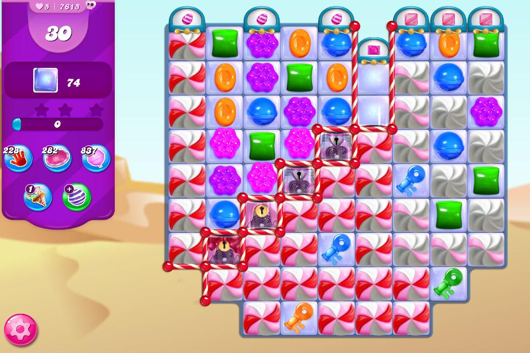 Candy Crush Saga level 7615