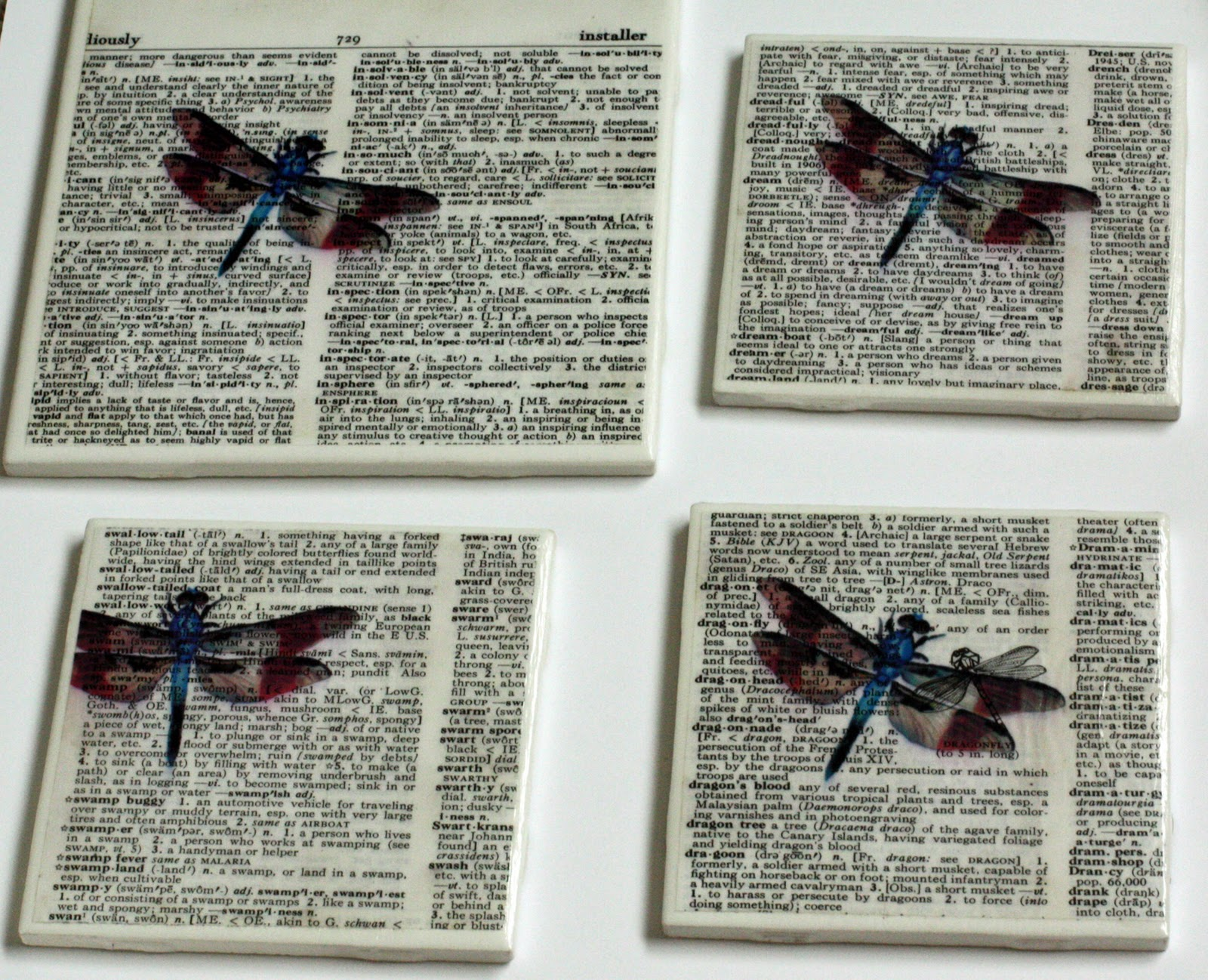 ceramic tile coasters easy and inexpensive gift