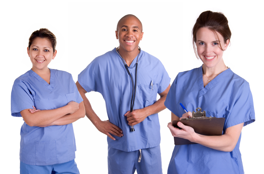 Staffing nursing and health care