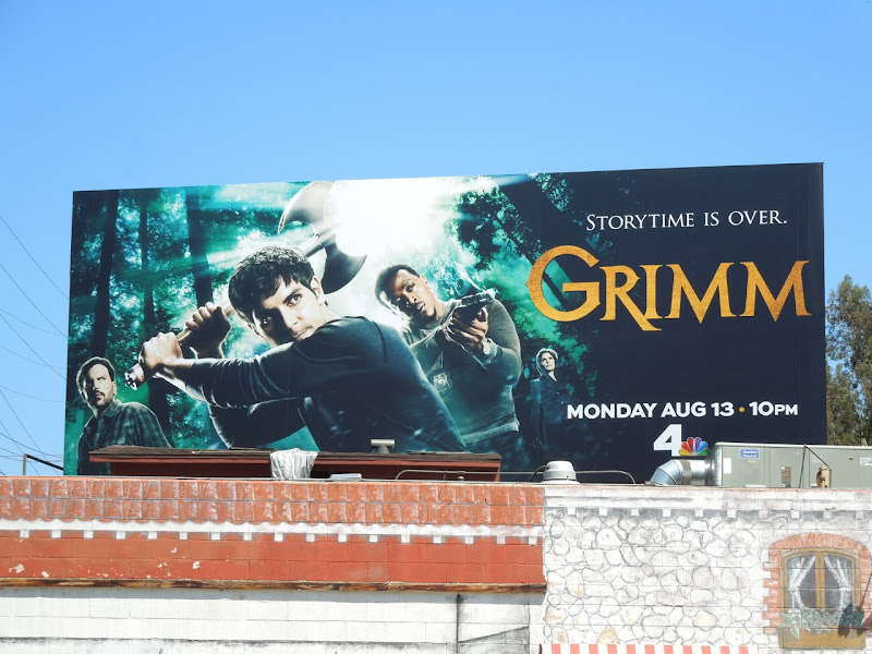 Grimm season 2 NBC billboard