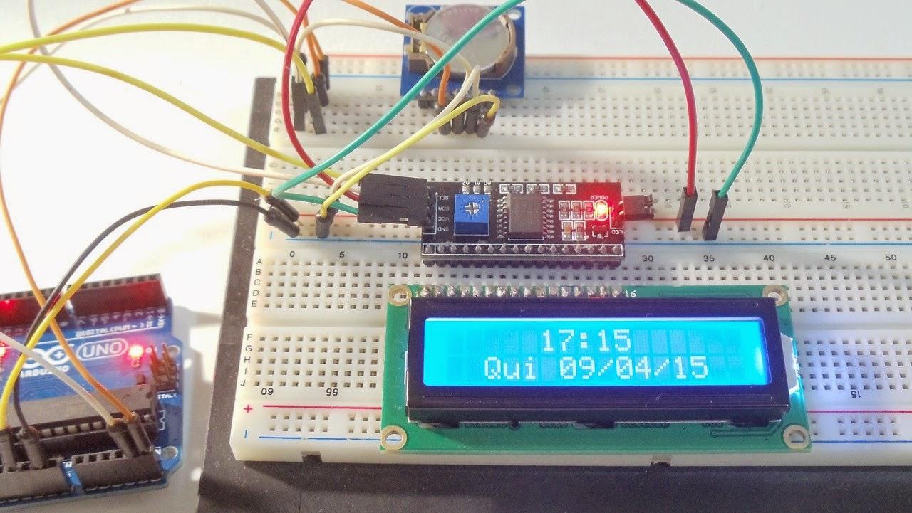 LCD 16x2 i2c ds1307 rtc