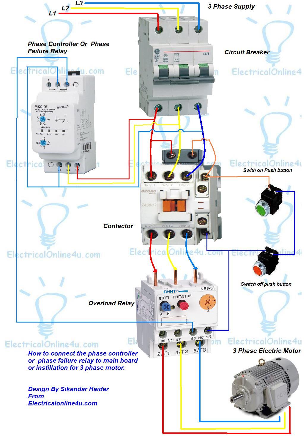 Wiring Diagram Of Motor 3 Phase 2 Speed Motor Wiring Diagram