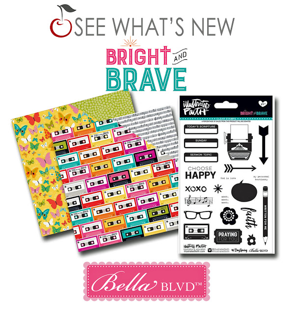 bella blvd illustrated faith bright and brave paper crafting