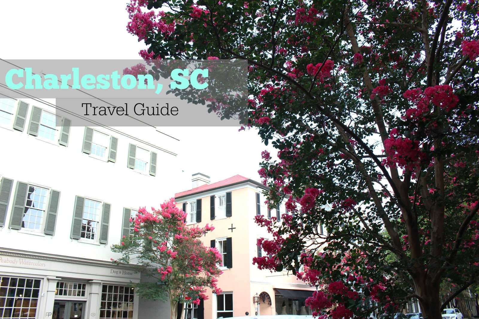 South Carolina - travel guide - charleston