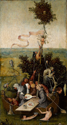Hieronymus Bosch, la nave dei folli, 1494