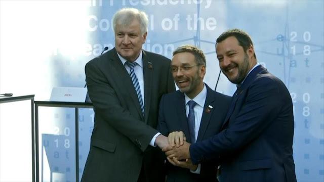 Alemania, Austria e Italia buscan solucionar crisis migratoria