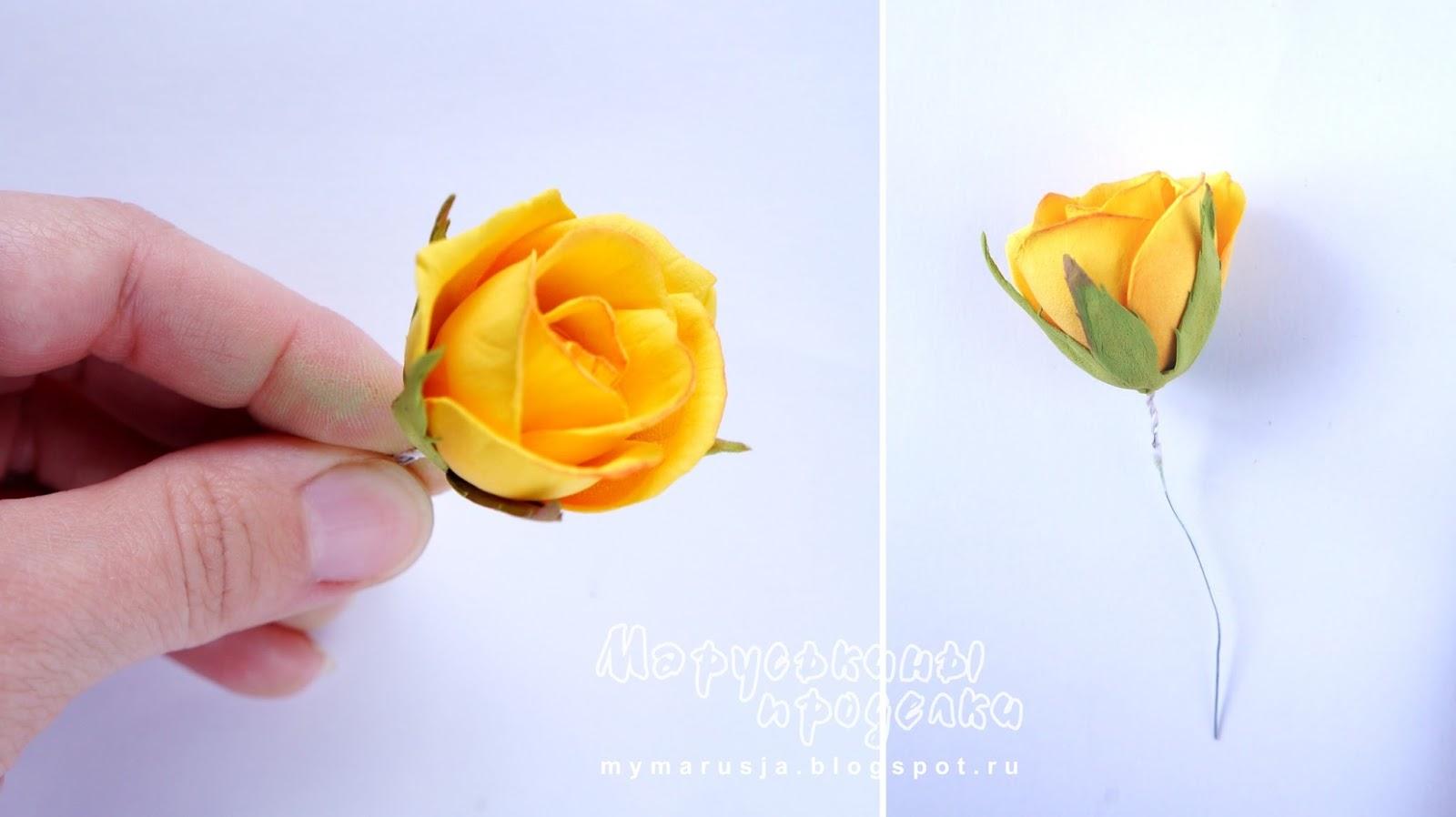 Шаблоны для роз из фоамирана