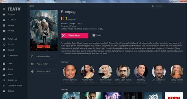 Program pentru filme online pe calculator (PC)