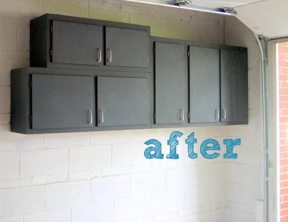 Chalkboard Cabinet Makeover