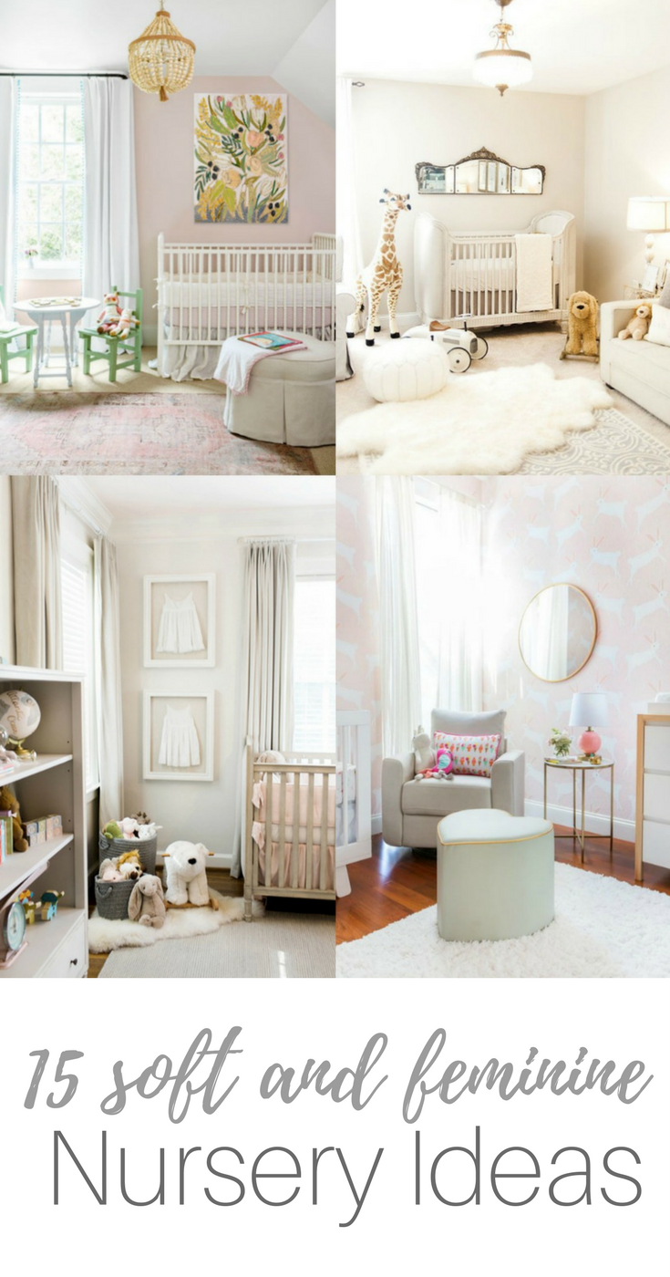 soft girl nursery ideas