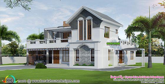 Modern style 4 bedroom villa