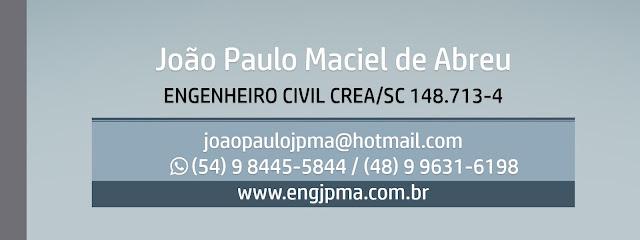 Engenheiro Civil João Paulo Maciel de Abreu