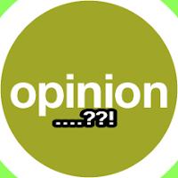 Pengertian istilah opini