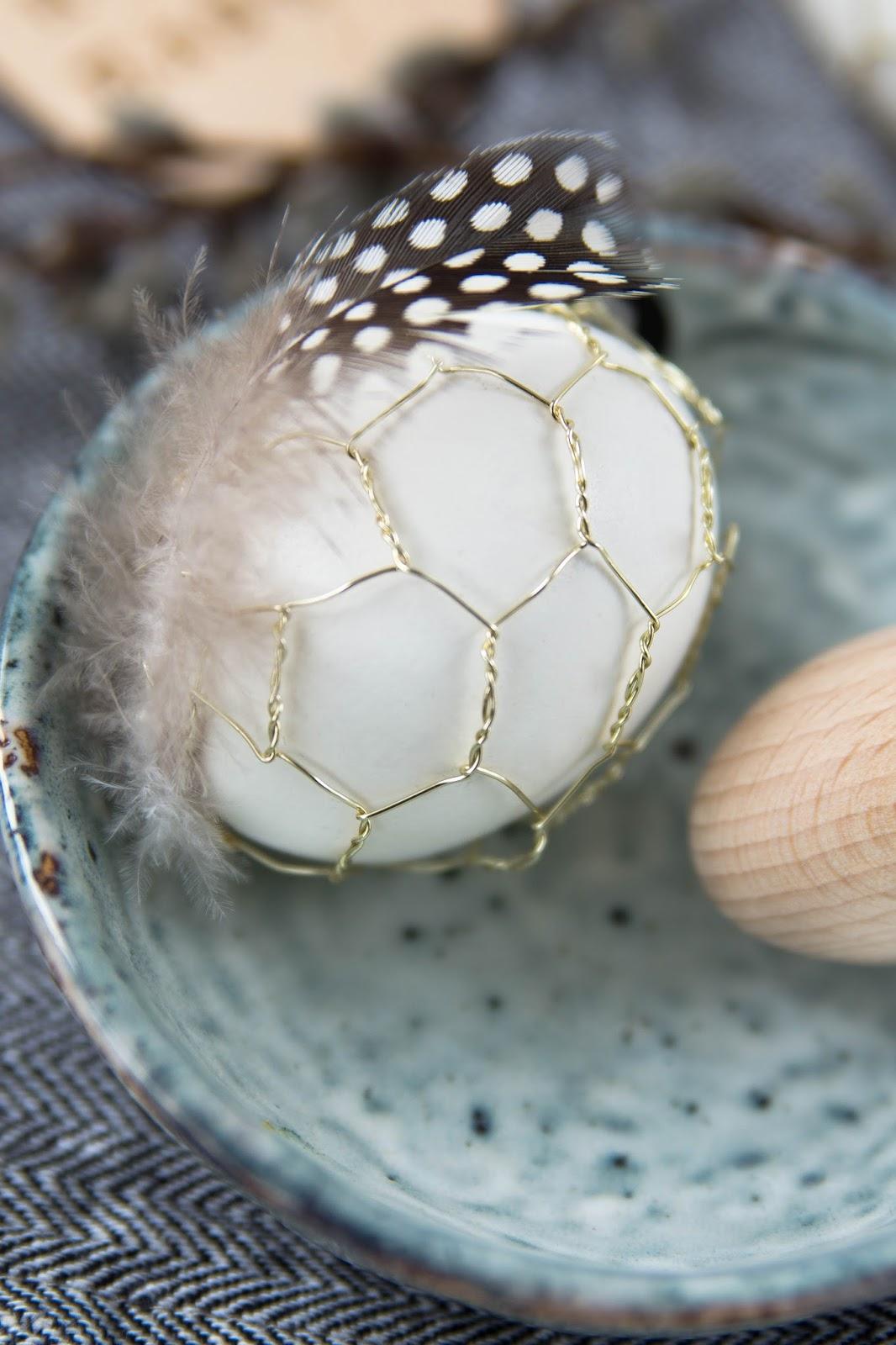 Ein Osterei im Hasendraht | Sinnenrausch - Der kreative DIY Blog ...