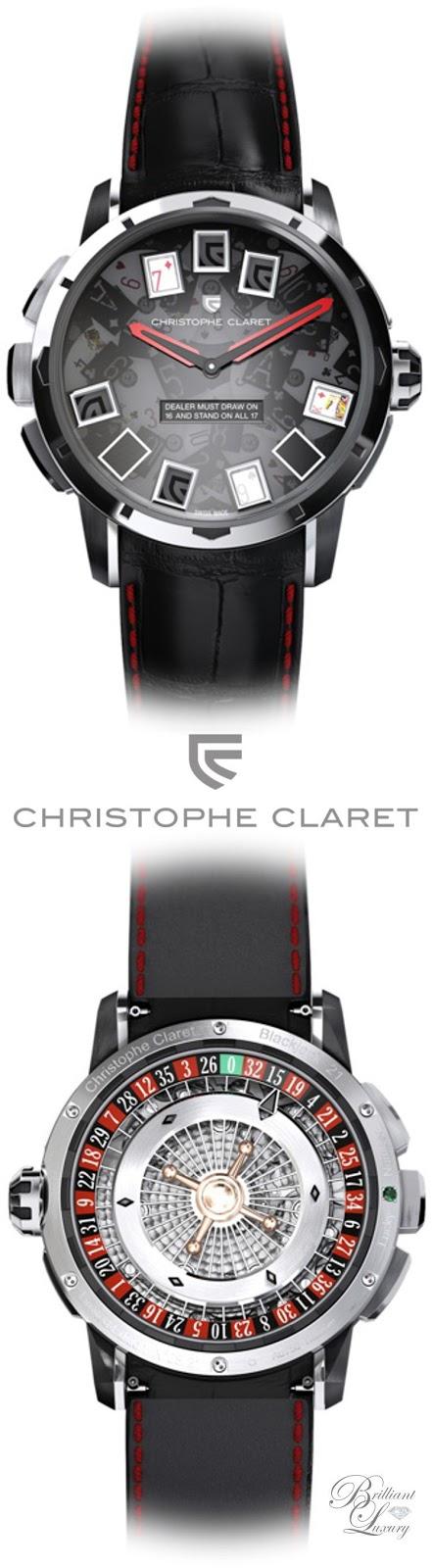 Brilliant Luxury ♦ Christophe Claret Blackjack Watch Men