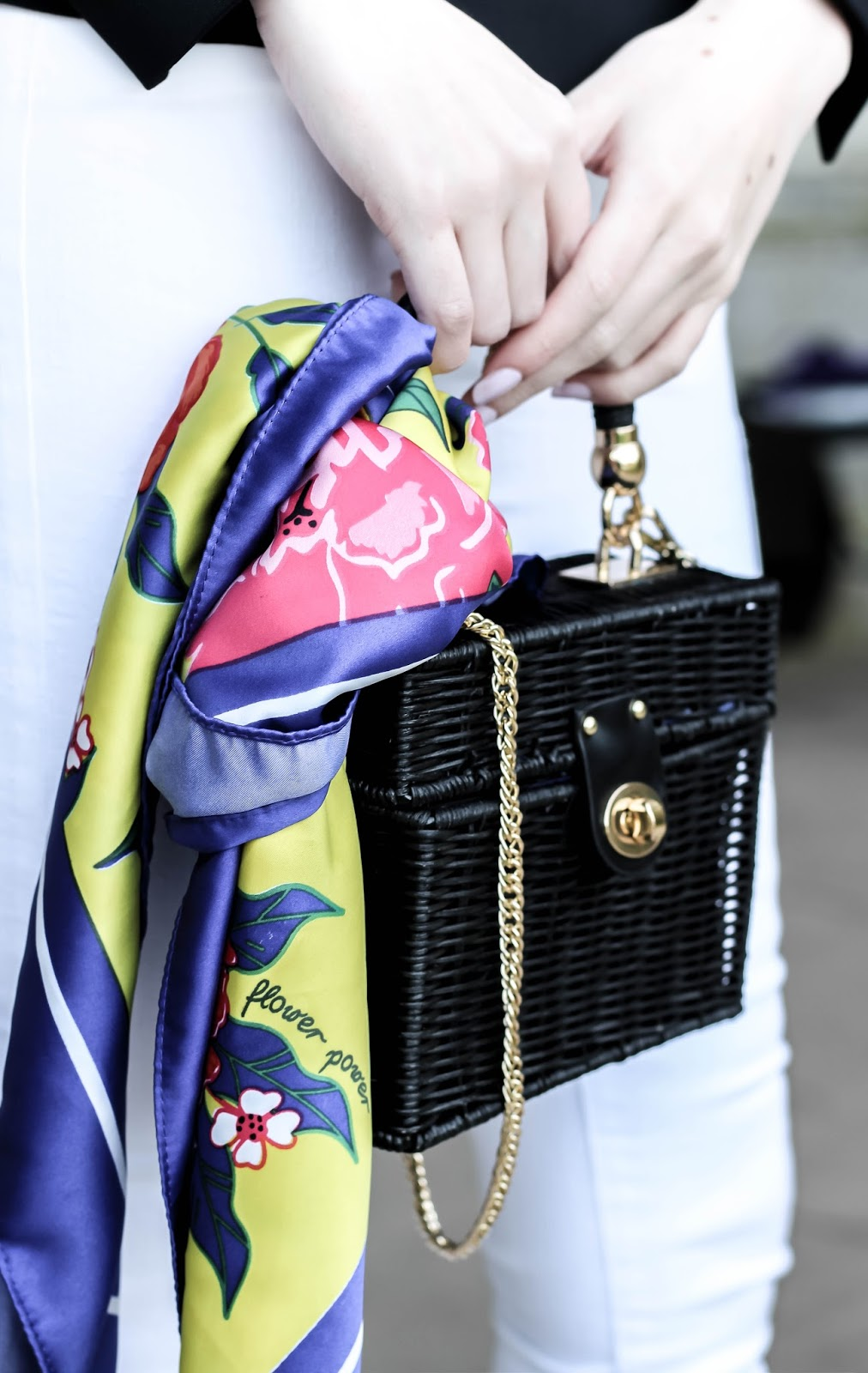 How to Stylishly Attach a Scarf to a Bag