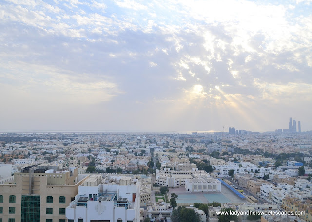 view from Centro Al Manhal roof top