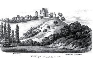 patrimoine de l'Allier château de Chatelard