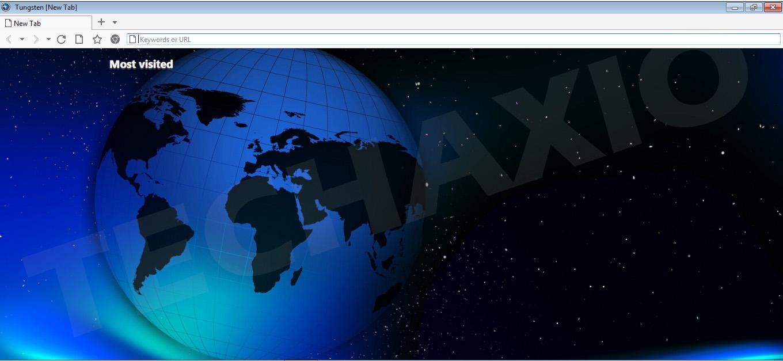 Tungsten Browser Screenshot